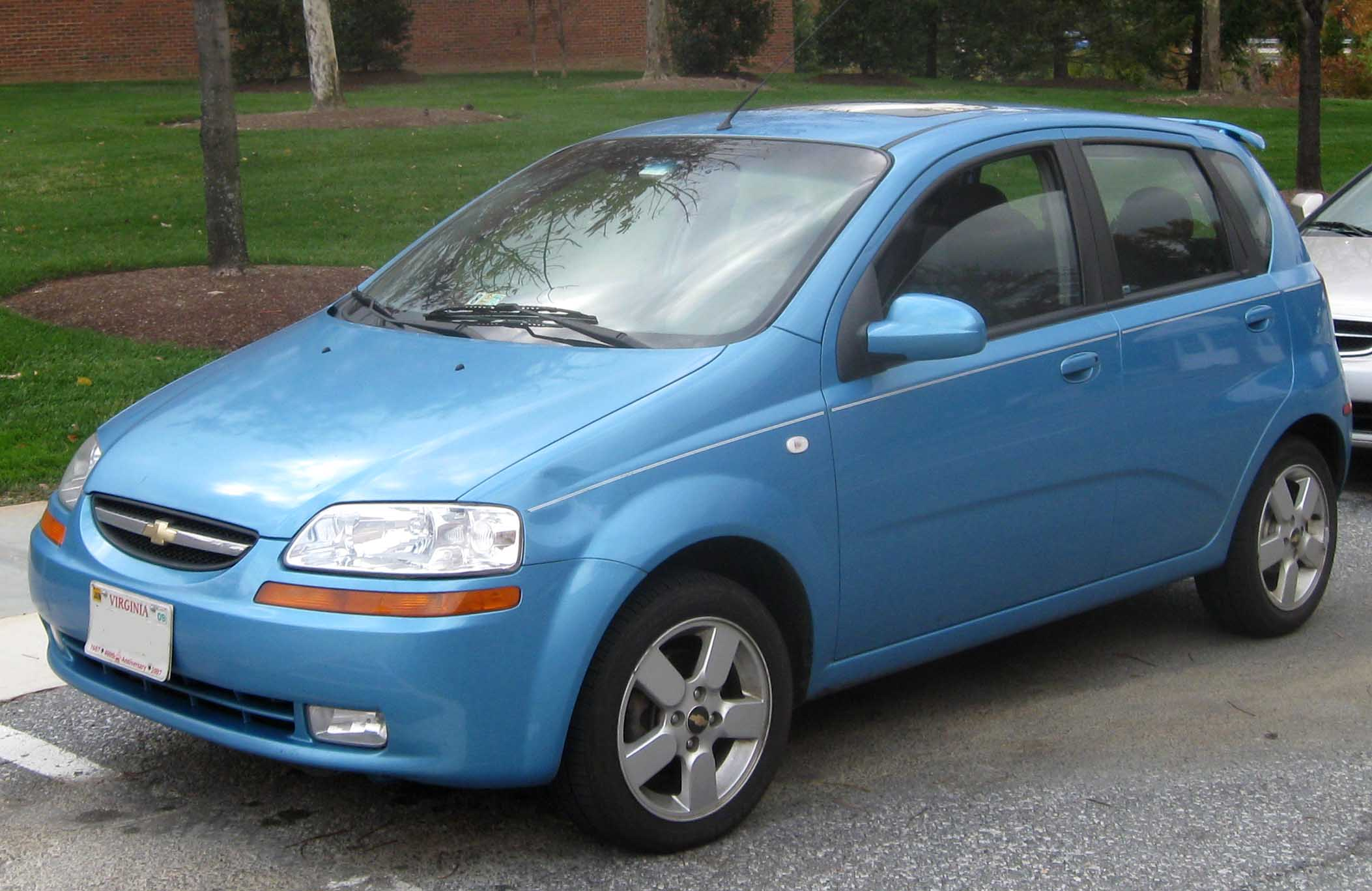 Chevrolet Aveo T200/T250