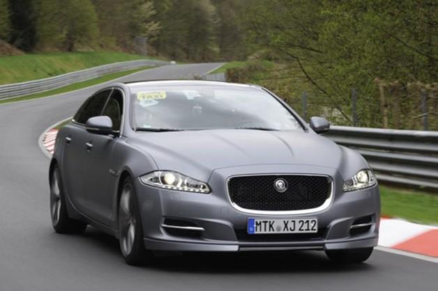 Экстерьер Jaguar XJ