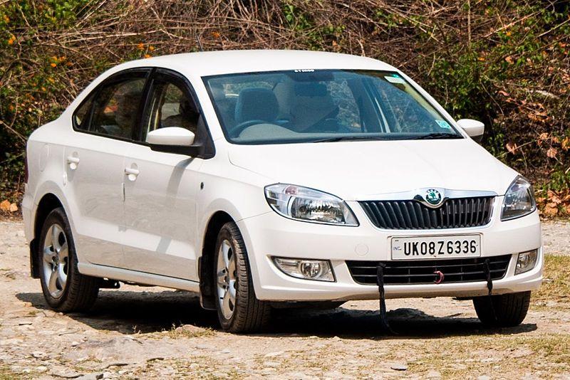 Индийская версия Skoda Rapid 2011